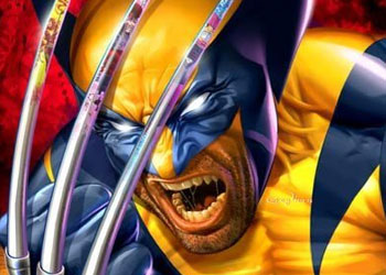 Wolverine in a good mood.