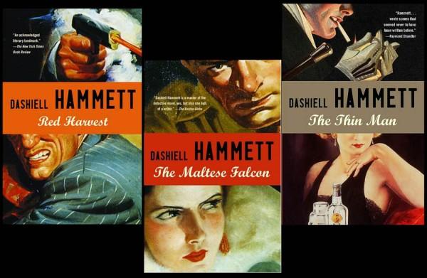 Dashiell-Hammett-Book-Covers