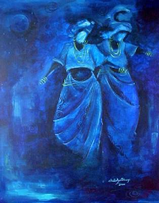 """Blue Dance"" by Chidi Okoye"
